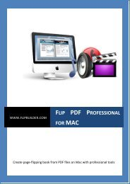 About Flip PDF Professional for Mac - FlipBuilder.com