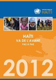 HAïTI - ONU en Haiti