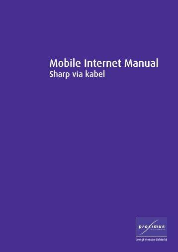 Mobile Internet Manual