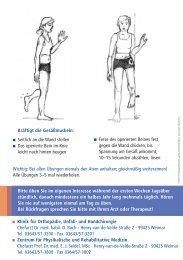 Kräftigt die Gesäßmuskeln: Seitlich an die Wand stellen Das ...