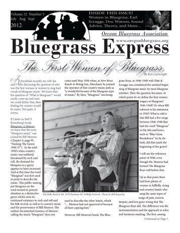 Oregon Bluegrass Ass
