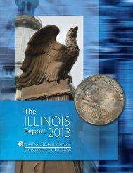 The Illinois Report 2013 - Institute of Government & Public Affairs ...