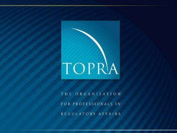 Orphan Drug Development Strategic Considerations - J ... - TOPRA