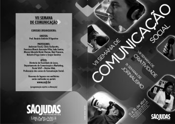 Acesse a programação completa da VII Semana de Comunicação ...