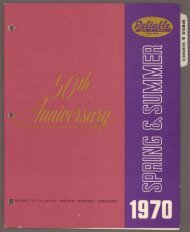 Spring and Summer - 50th Anniversary - 1970 PDF download