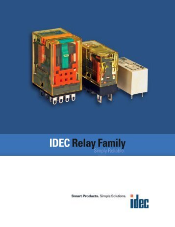 IDEC Relay Family - Electrical Controls