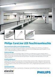 Philips CoreLine LED Feuchtraumleuchte - Elevite