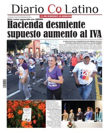 Edición 24 de Noviembre de 2014