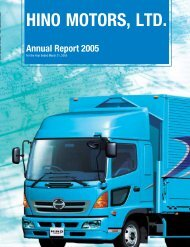 2005 Annual Report - hino global