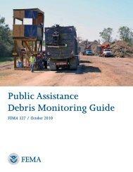 Public Assistance Debris Monitoring Guide - Federal Emergency ...
