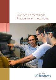 Praticien en mécanique Praticienne en mécanique - Stiftung ...