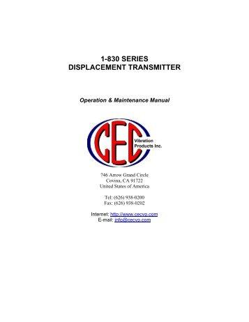 Cec tl5100 service manual