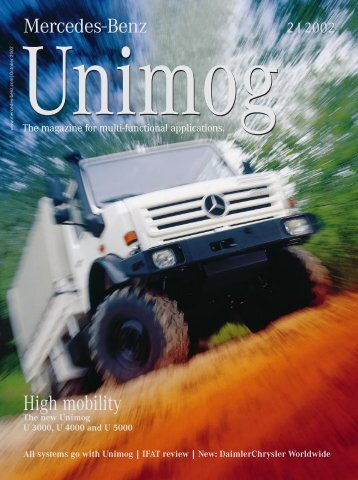 systems go with Unimog | IFAT review | New - Mercedes-Benz Polska