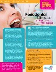 Periodontal Disease - Windsor Essex County Health Unit
