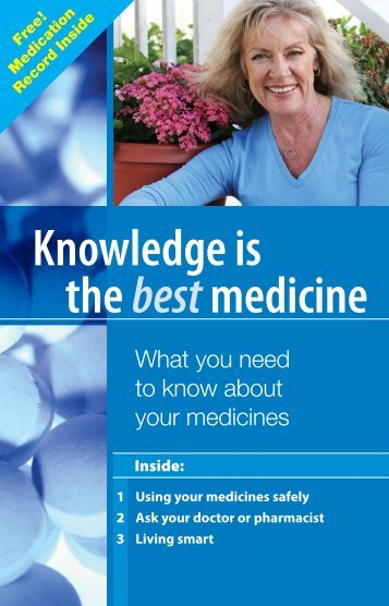 Knowledge is the best medicine