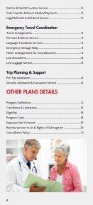 Good Sam TravelAssist Plan Description (PDF) - Page 4