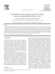 Antioxidant activity of grape seed (Vitis vinifera) extracts ... - Nutraxin