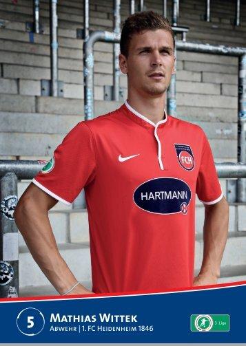 Mathias Wittek - 1. FC Heidenheim