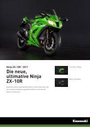 Ninja ZX-10R - 2-Rad Wehrli