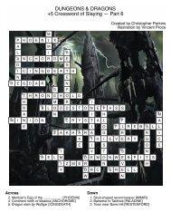 DnD Crossword 6