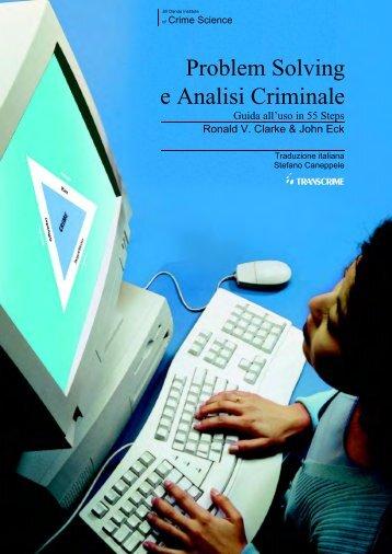 Problem Solving e Analisi Criminale - Transcrime - Università degli ...