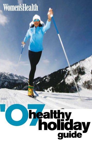 Healthy Holiday - Women's Health