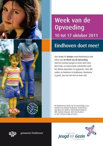 Week van de Opvoeding - MEE Zuidoost Brabant