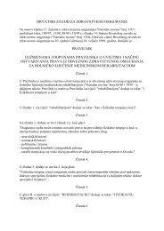 Pravilnik o uvjetima i načinu ostvarivanja prava iz obveznog ...