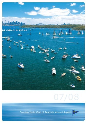 2007/8 Annual Report - Cruising Yacht Club of Australia