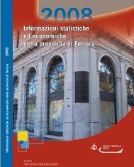 Informazioni Statistiche 2008.pdf - Camera di Commercio di Ferrara