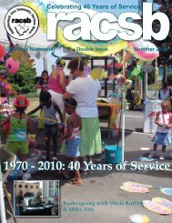40 Years of Service 1970 - 2010 - Rappahannock Area Community ...