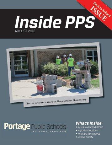 Inside PPS - Portage Public Schools