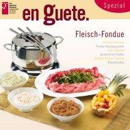 Fleisch-Fondue - Schweizer Fleisch-Fachverband SFF