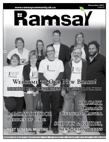 November 2011 - Ramsay Community Association