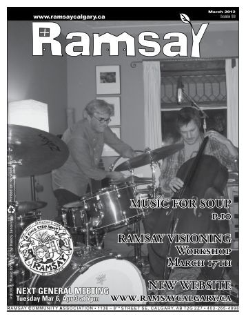 to download the March 2012 Newsletter - Ramsay Community ...