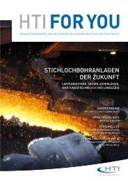 stichLOchbOhranLagen der zukunft - HTI - High Tech Industries AG