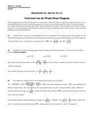 Universal van der Waals Phase Diagram
