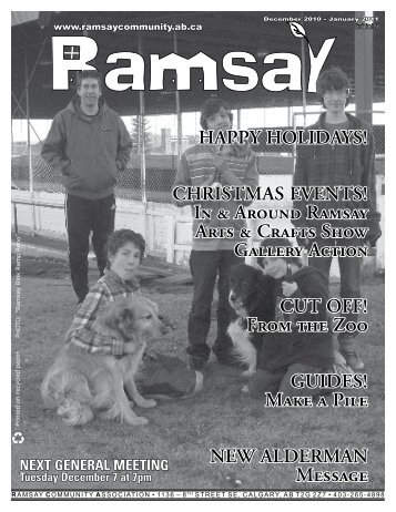 December 2010 - Ramsay Community Association