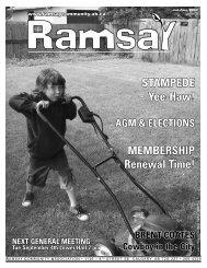 July/August 2007 - Ramsay Community Association
