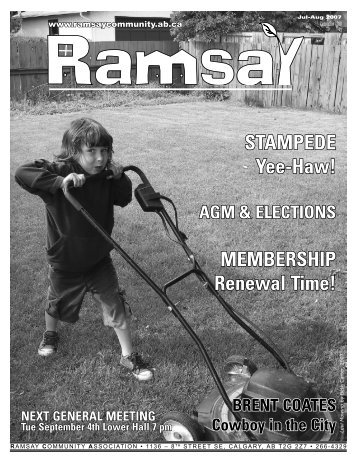 July/August 2007 - Ramsay Community Association