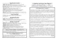 31 mars 2013 - Paroisse Saint-Saturnin