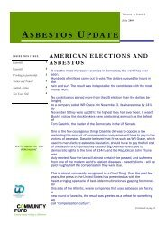 Newsletter - July 2004 - Clydebank Asbestos Group