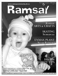 December 2009 - Ramsay Community Association