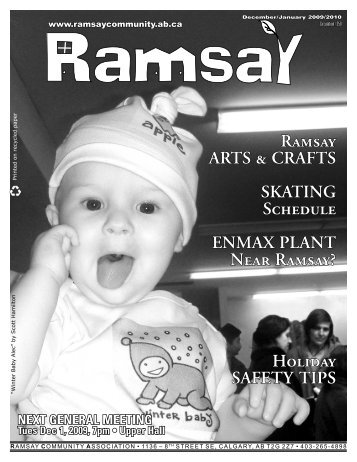 December 2009 - Ramsay Community Association