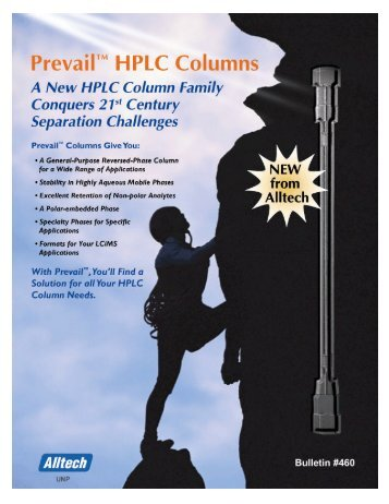 Prevail HPLC Columns