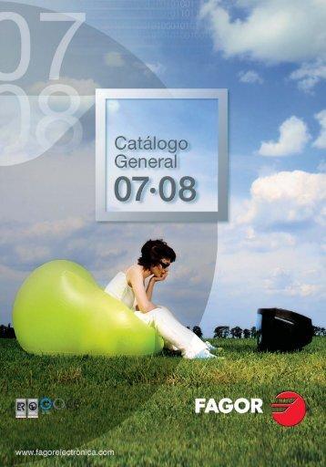 Catálogo FAGOR - Fagor Electrónica