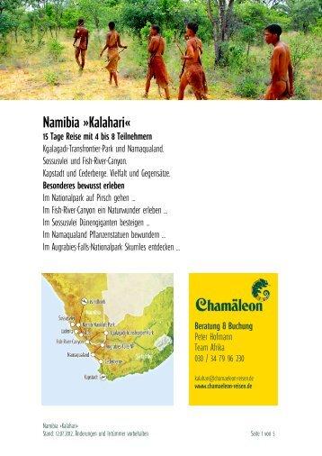 Namibia »kalahari«