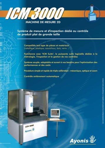 Système de mesure et d'inspection dédié au contrôle de produit plat ...