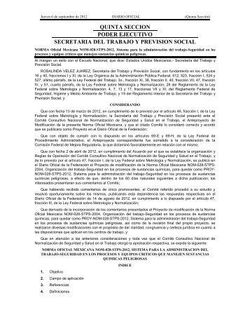 NOM-028-STPS-2004 - Normas Oficiales Mexicanas de Seguridad y ...