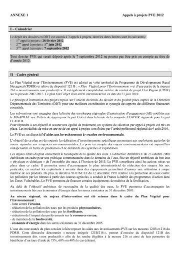 Cadre régional du PVE 2012 - L'Europe s'engage en région Centre